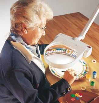 link to our range of Illuminated Magnifiers